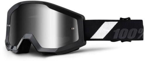 100/% Strata Extra Cross MX Brille verspiegelt Motocross