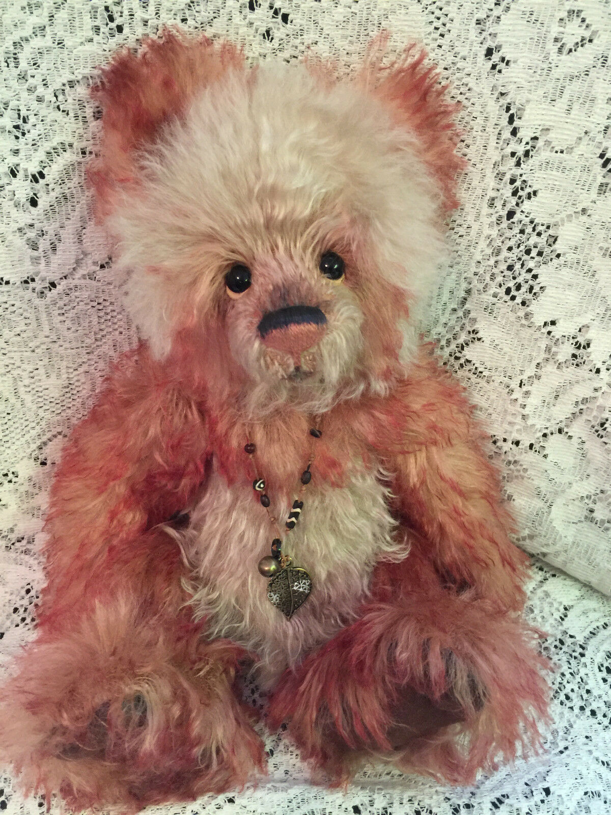 Charlie Bears CAGNEY 2015 Isabelle Mohair Collection FREE US SHIP