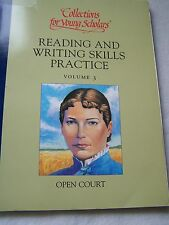 Collections for Young Scholars Reading And Writing Skills Practice Volume 3