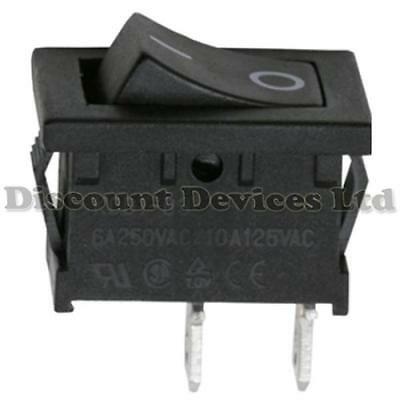 Car/Van/Boat Dashboard SPST Rocker Switch On-Off