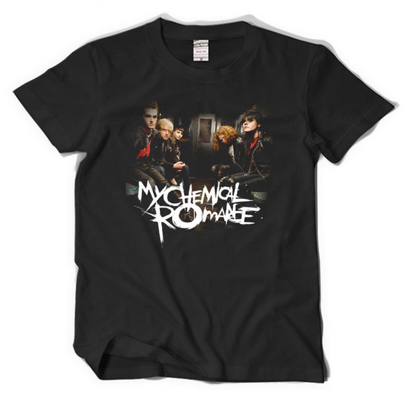 New Fashion Womens/Men My Chemical Romance 3D Print Casual T-Shirt JK567