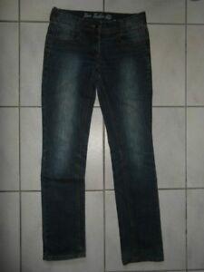 Damen-Strech-Jeans-Tom-Tailor-W30-L31-Gr-38-Blau-Maedchen-170