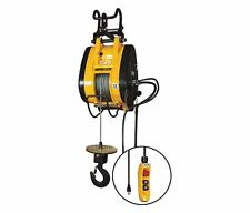 OZ Lifting Electric Wire Rope Hoist For Scaffold 1000 lbs.OBH1000NG