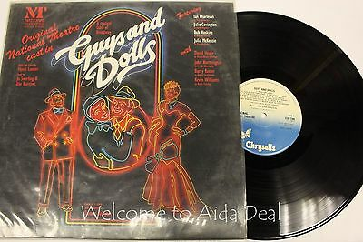 Original National Theatre Cast In Guys And Dolls 1982 Lp