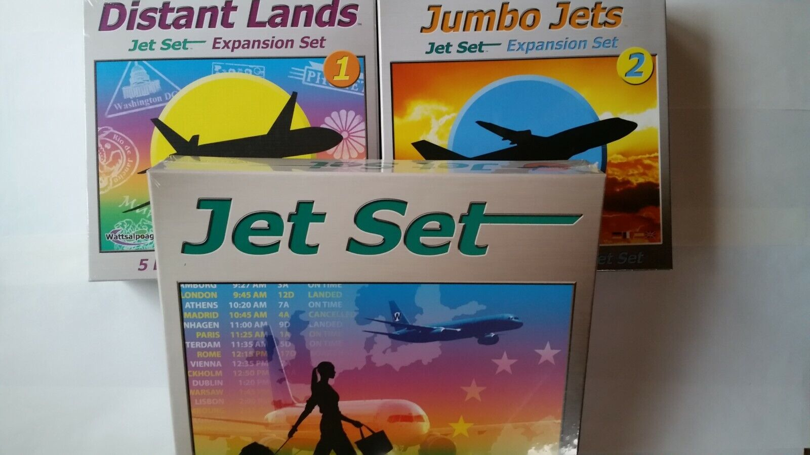JET SET With 2 EXPANSIONS