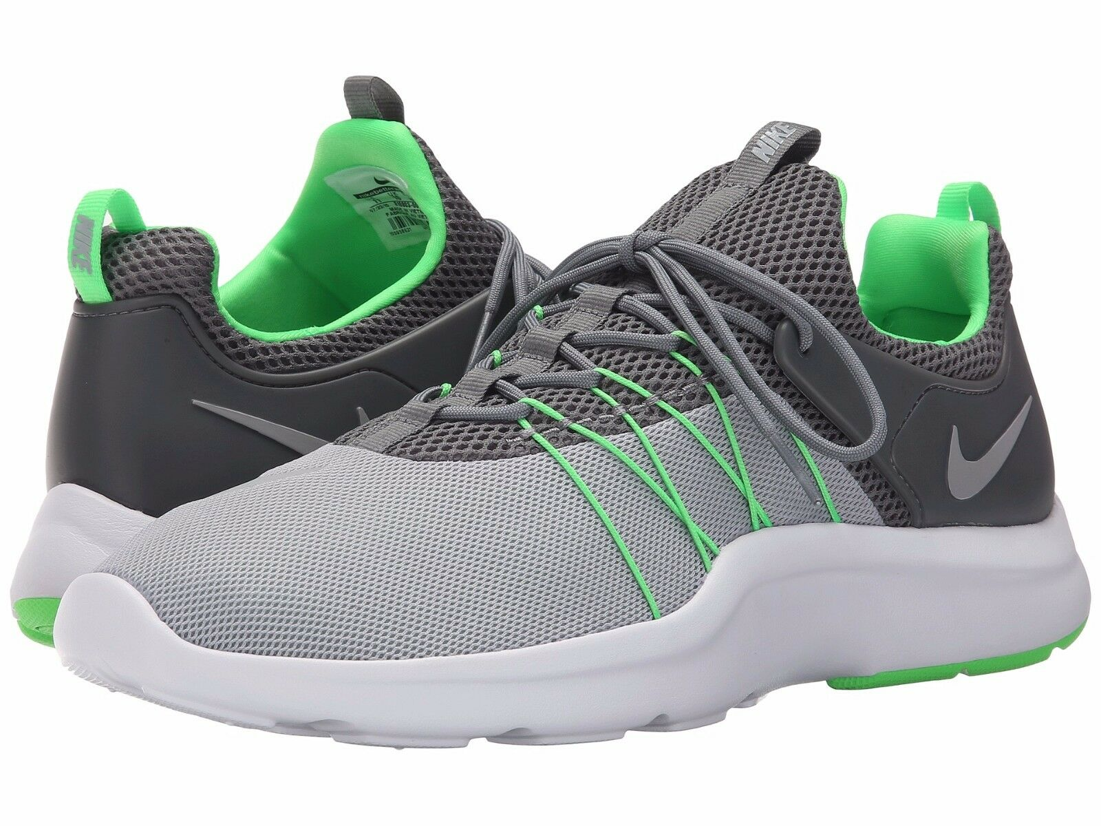 819803-003 Nike Darwin Running Chaussures Cool Gris /Green-Wolf Gris
