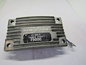 Details About 79000 Three Step 14 Volts Alternator Regulator Leece Neville
