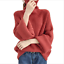 thumbnail 12 - Women-039-s-Knitwear-Turtleneck-Sweater-Loose-Long-Sleeve-Pullover-Jumper-Baggy-Tops