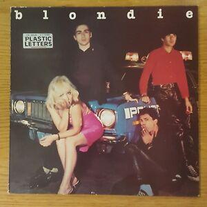 image is loading blondie plastic letters 12 034 vinyl original uk