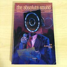 The Absolute Sound Issue Volume 12 Number 46, 1987 TAS Onkyo Linn Ittok Luxman