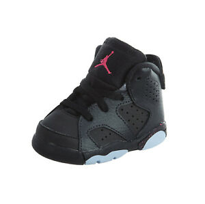 uk availability b6bac 7402e Image is loading Jordan-6-Retro-GT-Infant-Toddler-Girl-Shoes-