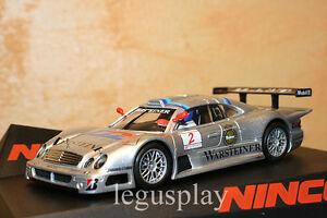 SCX-Scalextric-Slot-Ninco-50572-Mercedes-CLK-GTR-Vintage