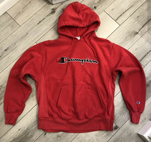 Champion Reverse Weave XL Red Hoodie Vintage 1990s