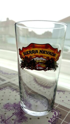 Sierra Nevada brand new Pint Beer Glasses very good and thick glass resistant
