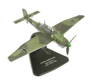 AC004-Oxford-Diecast-MODELZONE-1-72-Junkers-Ju-87-B-Stuka-Modelo-Nuevo-Avion-Regalo