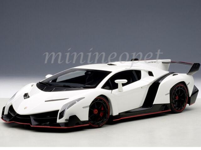 Autoart 74507 1 18 Signature Lamborghini Veneno White From Japan