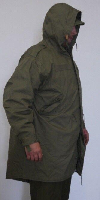 US GI SHELL M51 KAPUZENPARKA Parka M51 SHELL Army Fieldparka MOD Feldparka Fishtail XXS b353e1