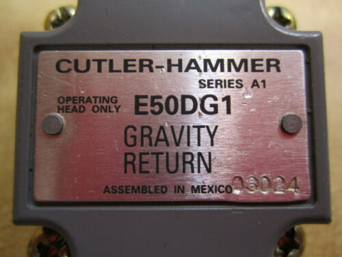 Cutler Hammer E50-DG1 Eaton Limit Switch Head E50DG1