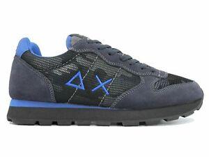 Scarpe-Sun68-Z29103-47-Tom-Camouflage-Grigio-Scuro-Moda-Uomo-Sneakers-Cool