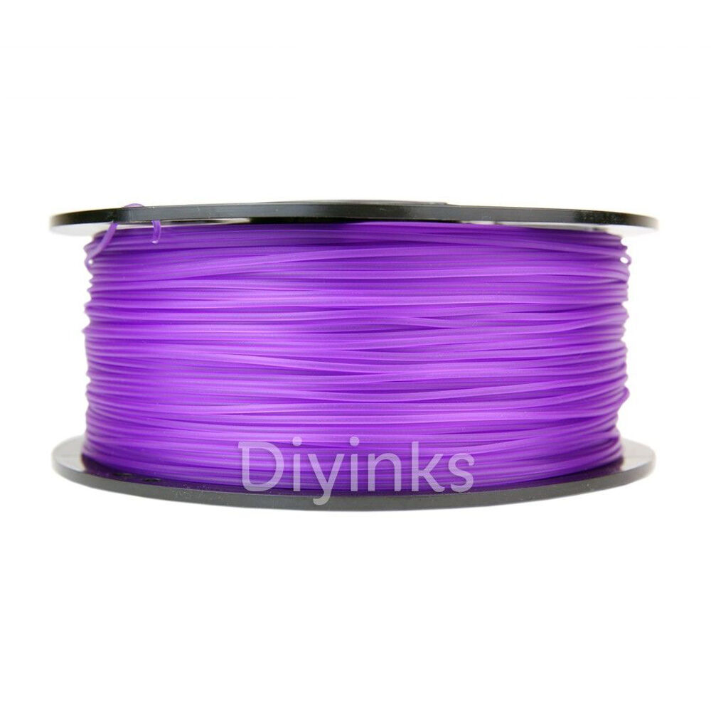 Translucent purple Purple 3D Printer Filament 1kg//2.2lb 1.75mm PLA