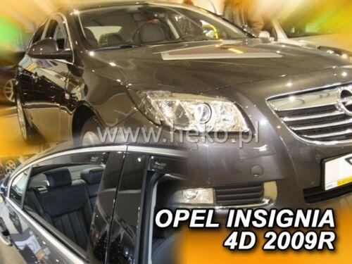 HEKO 25380 saute vent 4 Pcs Opel Insignia 4//5 türig année de construction 2009-2017