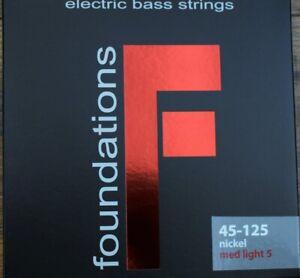 SIT Strings Foundations 5 String Meduim Light Nickel Bass Set FN545125L