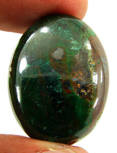 56-75-Ct-Natural-Chrysocolla-Loose-Gemstone-Cabochon-Designer-Cab-Stone-23829