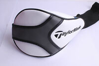 DRIVER TAYLORMADE SLDR JETSPEED  1 WOOD DRIVER HEAD COVER WHITE FREE DELIVERY