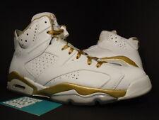 Nike Air Jordan VI 6 Retro GMP GOLDEN MOMENT GOLD MEDAL PACK 384664-135 Sz 11.5