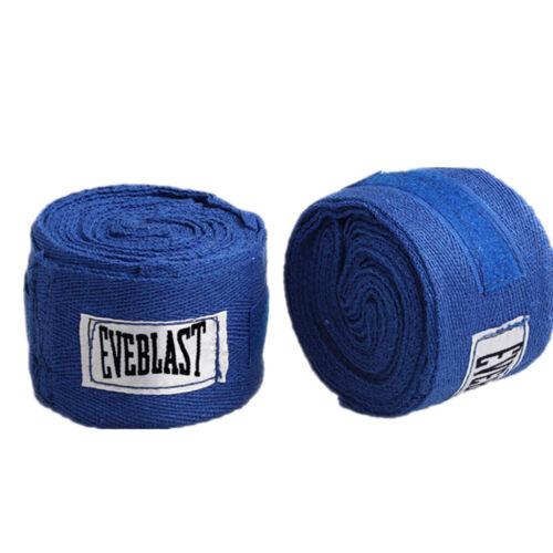 2 rouleaux 3M coton bandage de boxe pansement Sanda Muay Thai Taekwondo gants