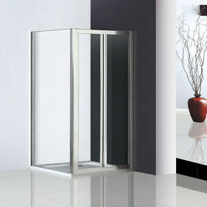 Walk-In-Pivot-Shower-Door-Enclosure-Glass-Screen-Cubicle-Side-Panel-Stone-Tray