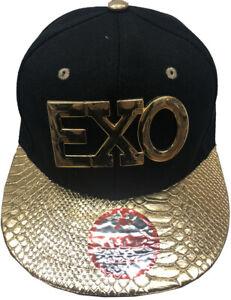 56e5e7d295c METAL EXO Hip-hop Snapback Adjustable Baseball Caps Hats LOT (Buy 2 ...