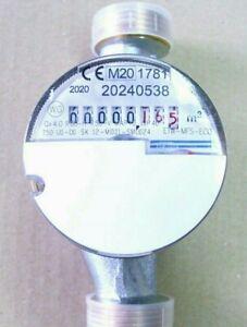 Wasserzahler Kalt Eichjahr 2020 3 4 1 Uw 130mm Qn 2 5 M H Wasseruhr Ebay