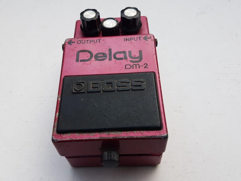 BOSS DELAY DM 2 - - - made in JAPAN 942036