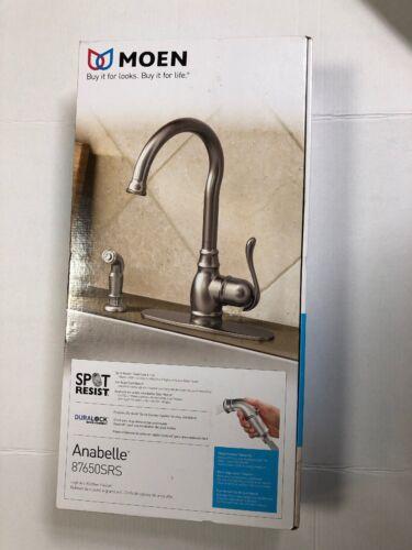 Moen Anabelle 876550SRS High-Arc Kitchen Faucet