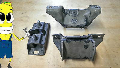 /& Transmission Mount 3 Pcs Kit 1968-1973 Mustang V8 Convertible Eng