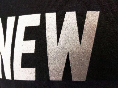 New York City Unisex T-Shirt Screenprinted Black Lennon Tee