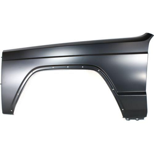 Driver Side Fender Primed Steel Front For Cherokee 84-96