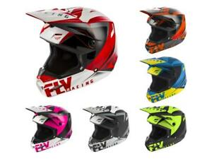 MX Motocross Dirt Bike Off-Road ATV MTB Men Women Fly Racing Elite Helmet