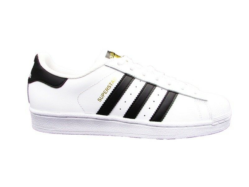 ac8ad3ed3a11 ADIDAS SUPERSTAR CLASSIC SNEAKERS BIANCO-NERO BIANCO-NERO BIANCO-NERO  C77124 c2213d