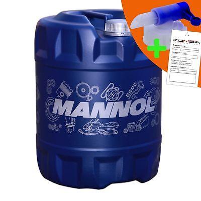 20 Liter MANNOL 2-Takt Plus TC Motoröl Motorradöl Motor ÖL 1x Ablasshahn