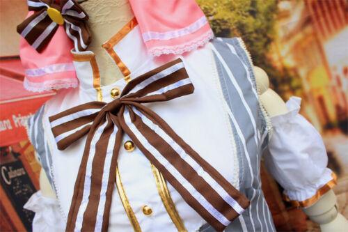 Lovelive love live Kousaka Honoka Maid lolita Candy Cosplay Costume dress set