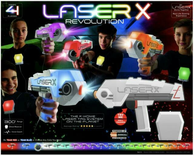 LASER X REVOLUTION 4 BLASTERS COMBAT PACK