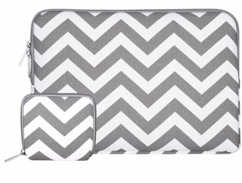 Mosiso Canvas Laptop Sleeve Bag for Macbook Acer HP Dell 11.6 13.3 15.6 inch