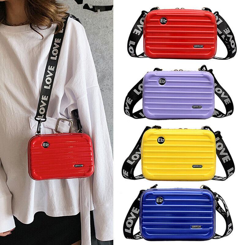 Women Shoulder Bag Handbags PU Leather Crossbody Purse Tote Satchel Suitcase Bag