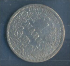 German-Empire-Jagerno-9-1875-A-ext-fine-Silver-1875-1-Mark-7849059