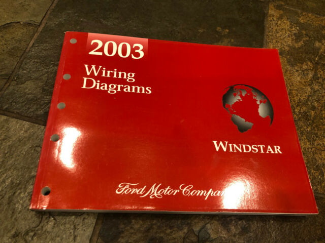 2003 Ford Windstar Wiring Diagrams Electrical Service Manual