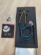 3m Littmann Classic Iii Stethoscope 27 Caribean Blue Rainbow Gold
