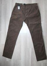 ORIGINAL Jeans DR DENIM Donk Chino marron velours W33 L 32 US   - 42-44 FR neuf