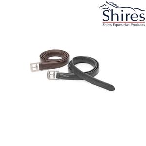 Shires Adelfia NON extensible étrier cuirs